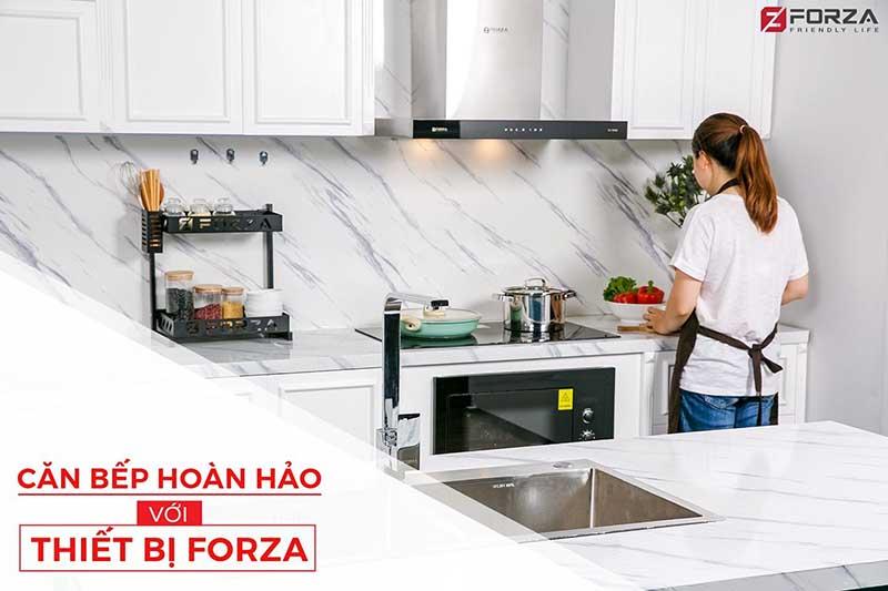 căn bếp hoàn hảo với bếp từ FORZA