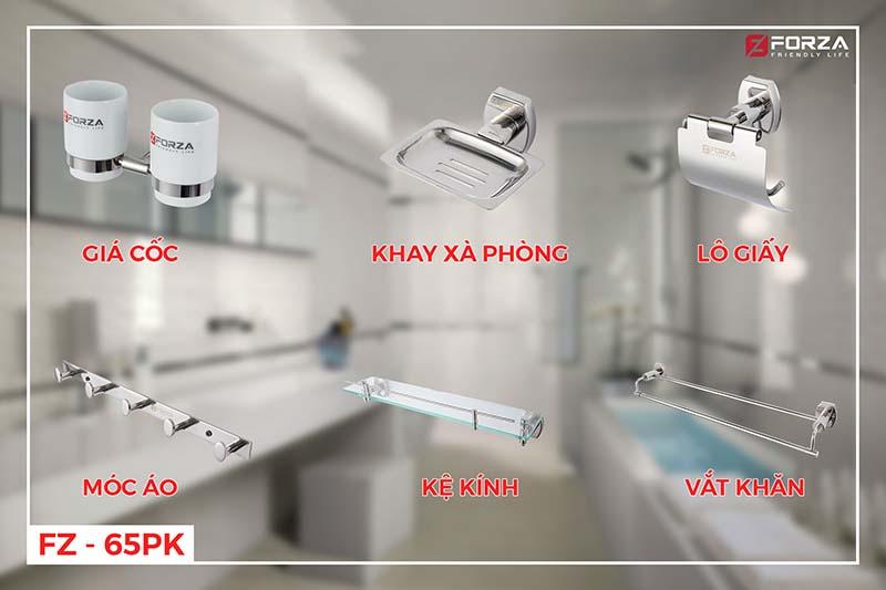 Bộ phụ kiện phòng tắm FZ-65 PK