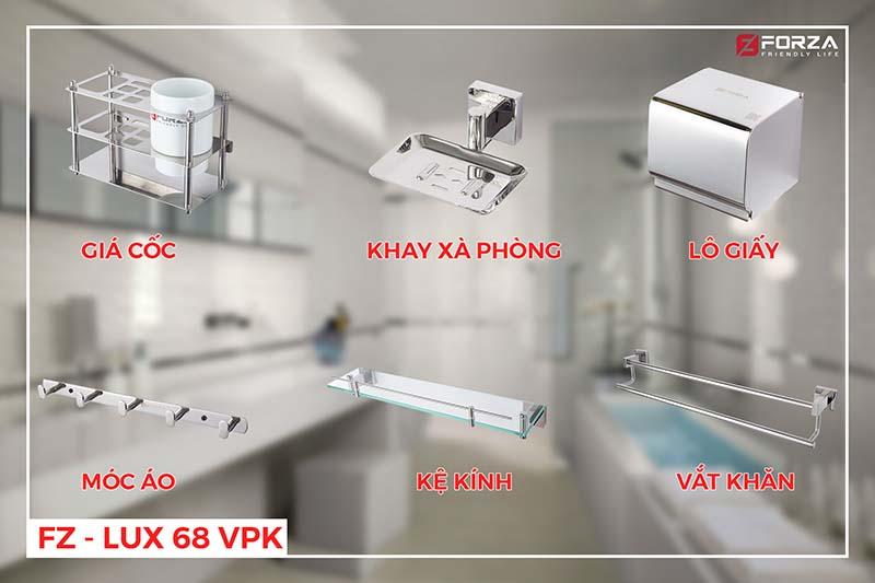 Phụ kiện phòng tắm FZ-LUX 68VPK